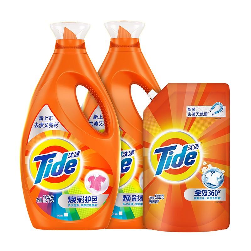汰渍 焕彩护色 洗衣液