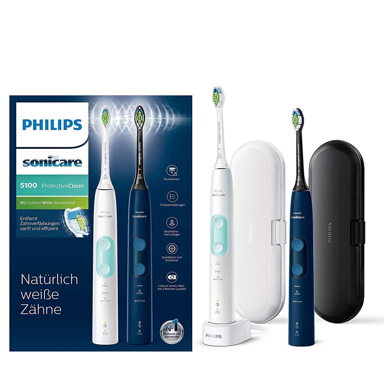 【亚马逊中国】飞利浦 HX6851/34 电动牙刷两件装