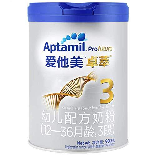 【亚马逊中国】Aptamil 爱他美 卓萃 婴儿奶粉 3段 900g *3件