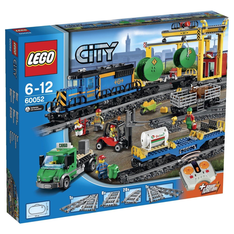 16日0时:<font color='red'>LEGO</font> <font color='red'>乐高</font> 城市系列 60052 遥控货运火车