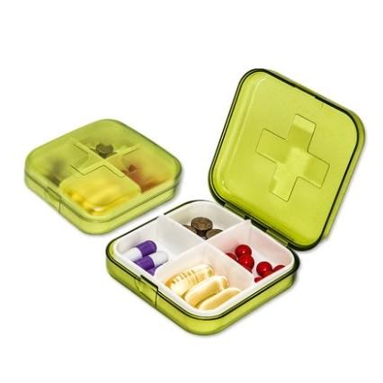 vilscijon 维简 4格便携式药盒 *2件