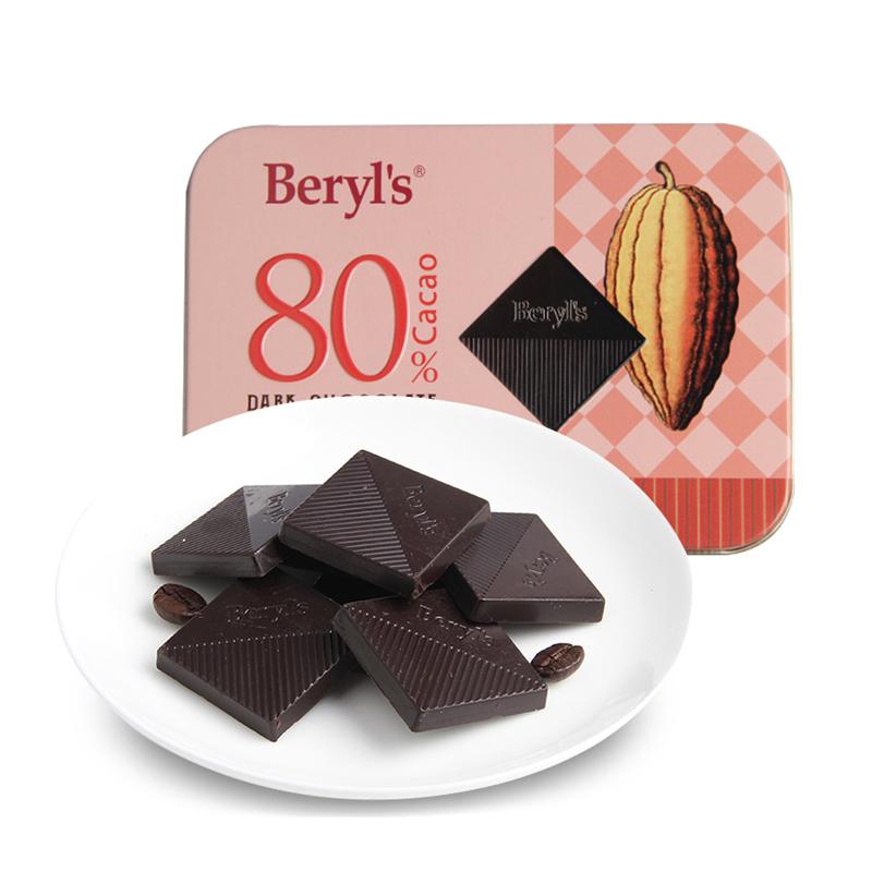 Beryl's 倍乐思 80%黑巧克力 108g
