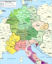 约1000年左右的神圣罗马帝国