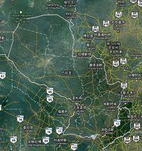 巴拉圭卫星地图