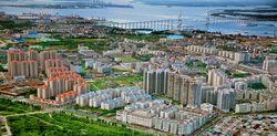 """美丽的""""港城""""-广东省湛江市海滨城区"""